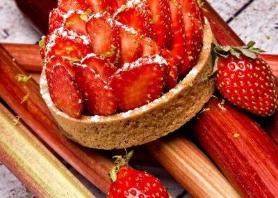 21-06 Tartelette fraises rhubarbe (1)
